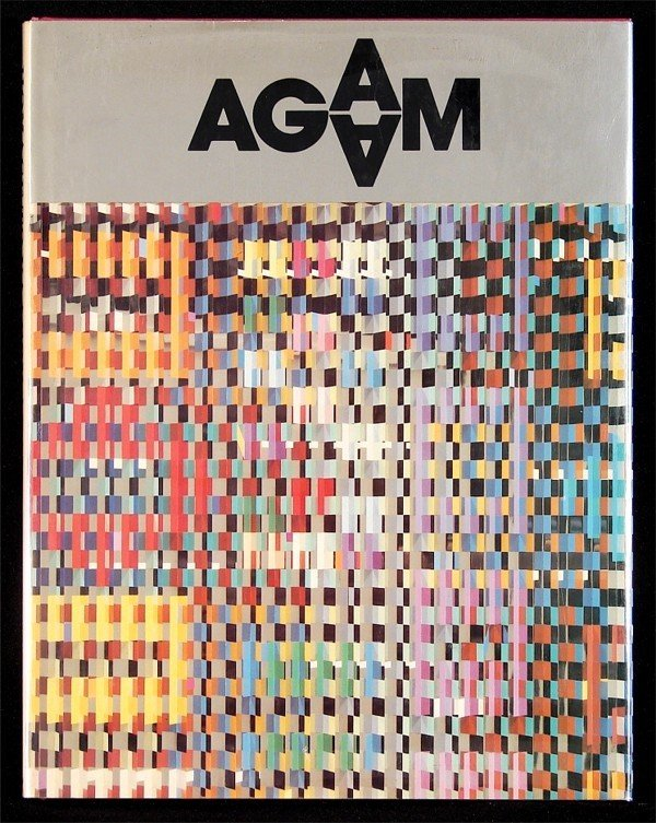 2: Art Book: Yaacov Agam (with two lithographs)
