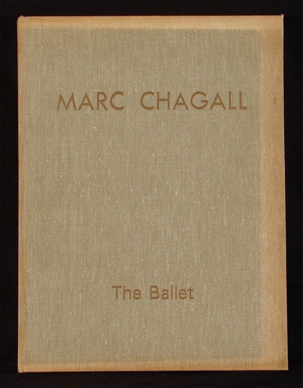19: Art Book: Marc Chagall (with lithograph)