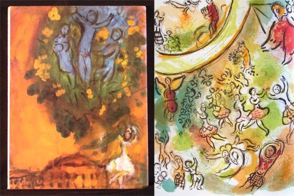 23: Art Books: Marc Chagall (with lithographs)