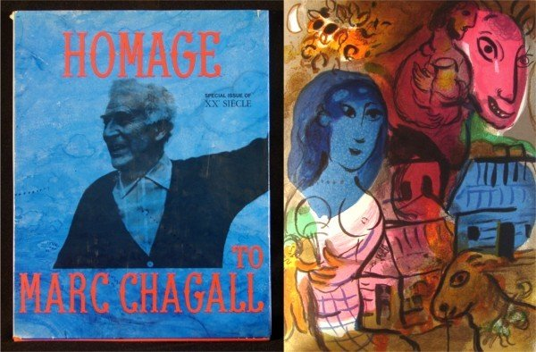 24: Art Book: Marc Chagall (with lithograph)