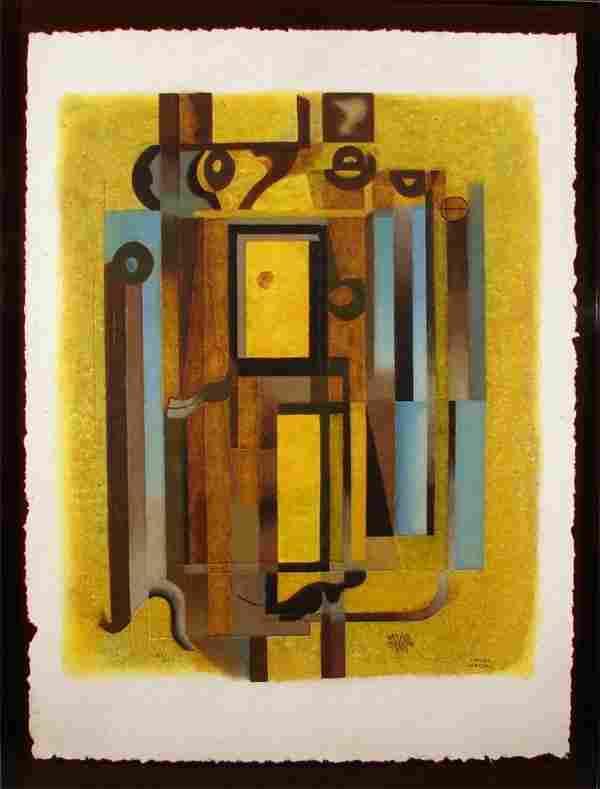 219: Carlos Merida (1891-1984) Guatemalan