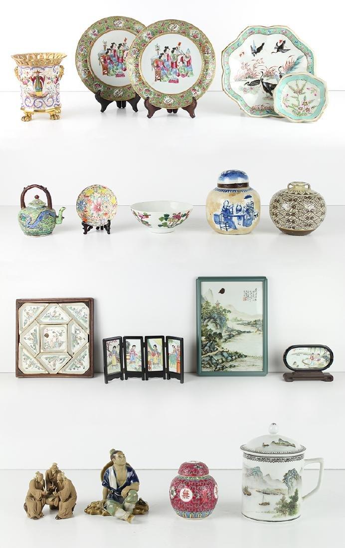 Asian Ceramics (eighteen)
