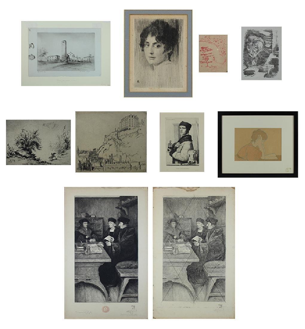 Edgar Chahine (1874-1947) & Edouard Vuillard