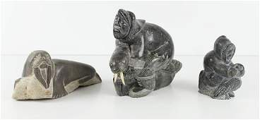 Inuit Art (three)