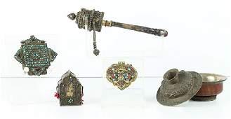 Tibetan Antiques (five)