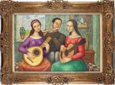 French Artist Unidentified (20 th Century)