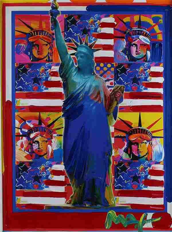 Peter Max (b. 1937) German/ American