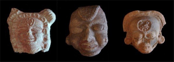 660: Pre-Columbian ceramics (three)