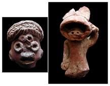 692 PreColumbian ceramics two