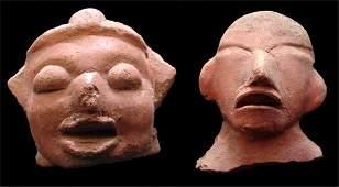 703 PreColumbian ceramics two
