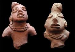 711 PreColumbian ceramics two