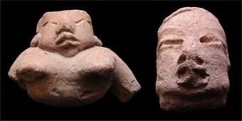 712 PreColumbian ceramics two