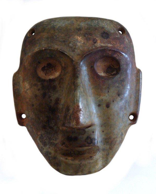 770: Pre-Columbian Jadite Mask