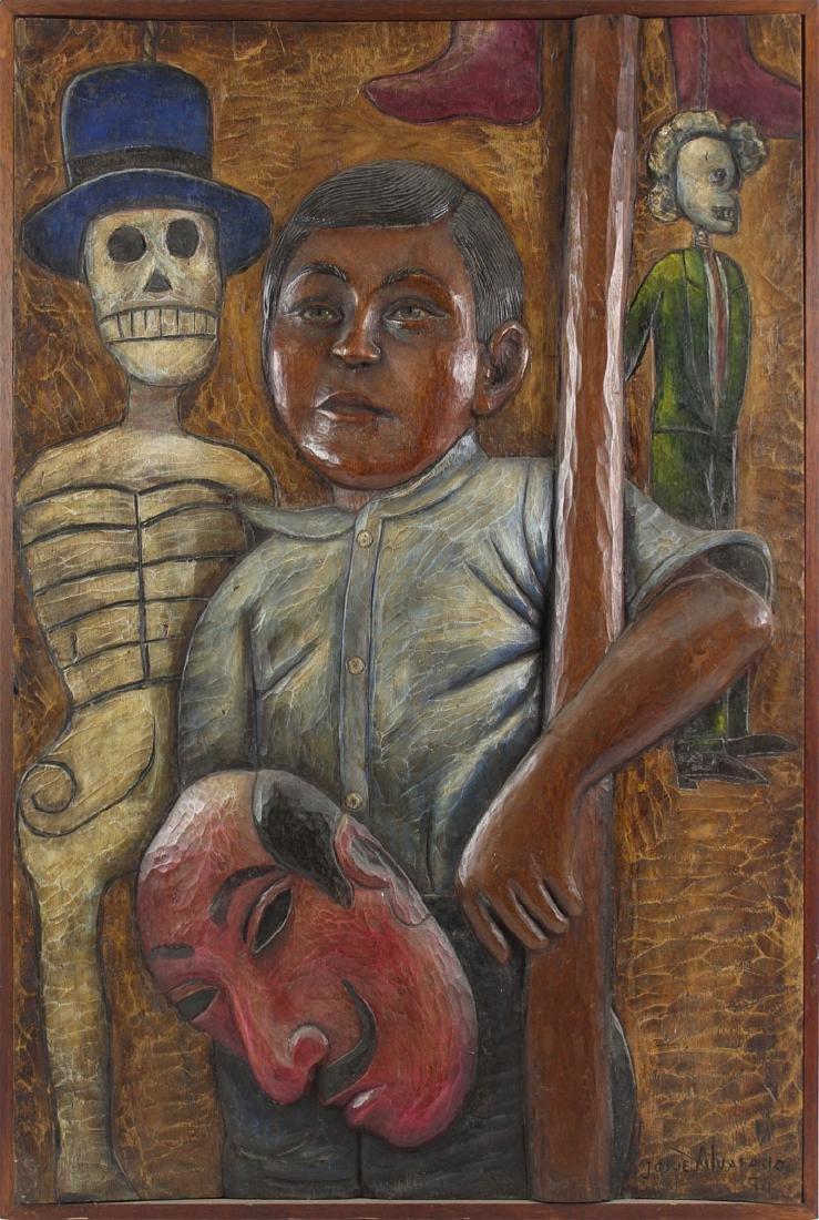 Josue Alvarado (20th Century) Mexican