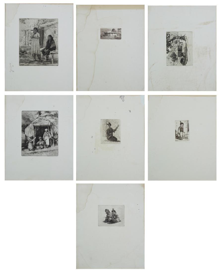 Asian Print Collection (1950's) (thirteen)
