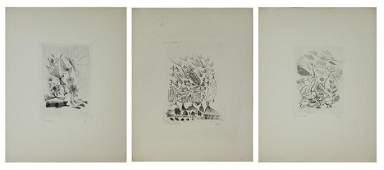Alice Rahon (1904-1987) French Mexican (three)