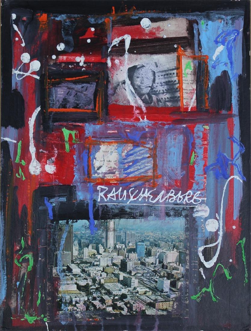 Robert Rauschenberg (1925-2008) New York