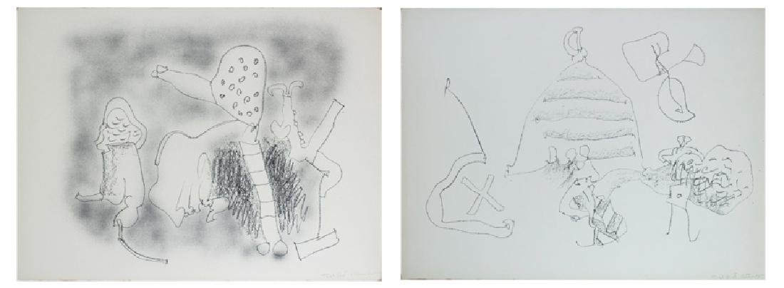 John Altoon (1925-1969) Californian (two)