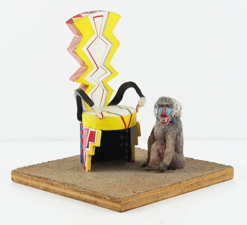 Artist Sculptor Unidentified 1980's - 2