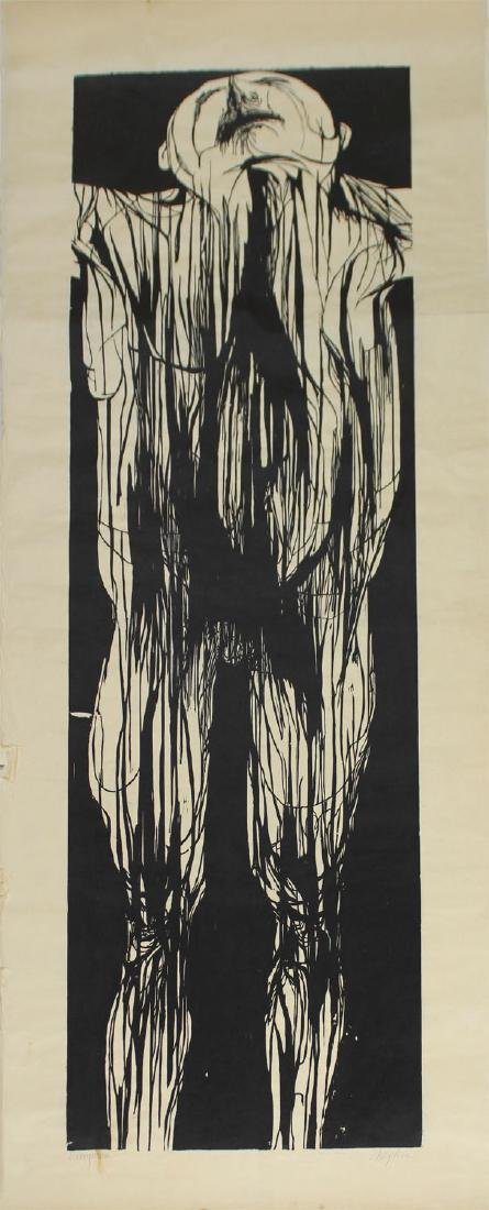 Leonard Baskin (1922-2000) American