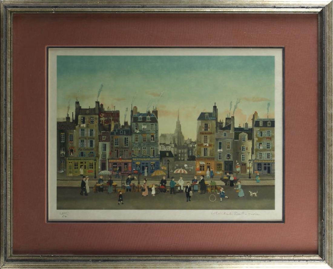 Michel Delacroix (b. 1933) French - 2