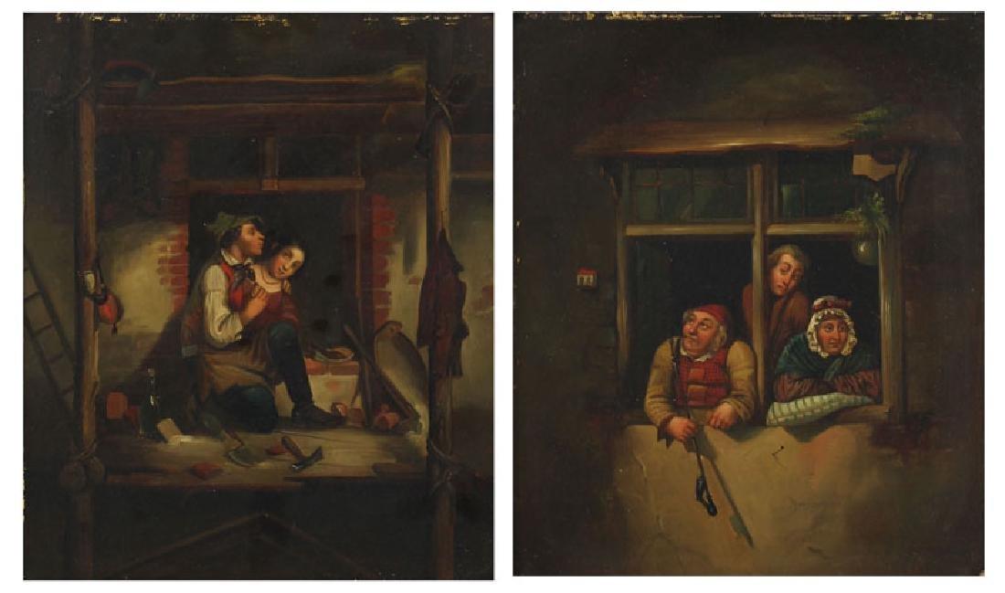 European Artist Unidentified (19th Century) (two)