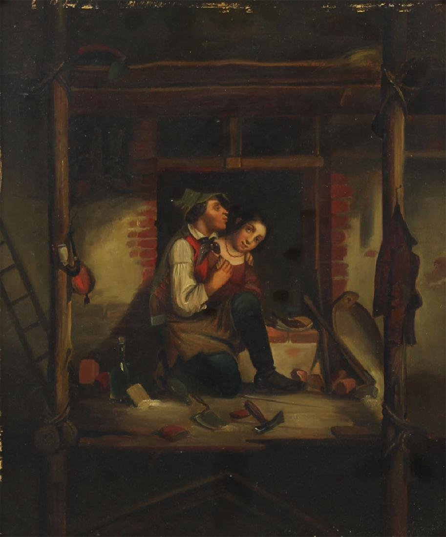 European Artist Unidentified (19th Century) (two) - 3