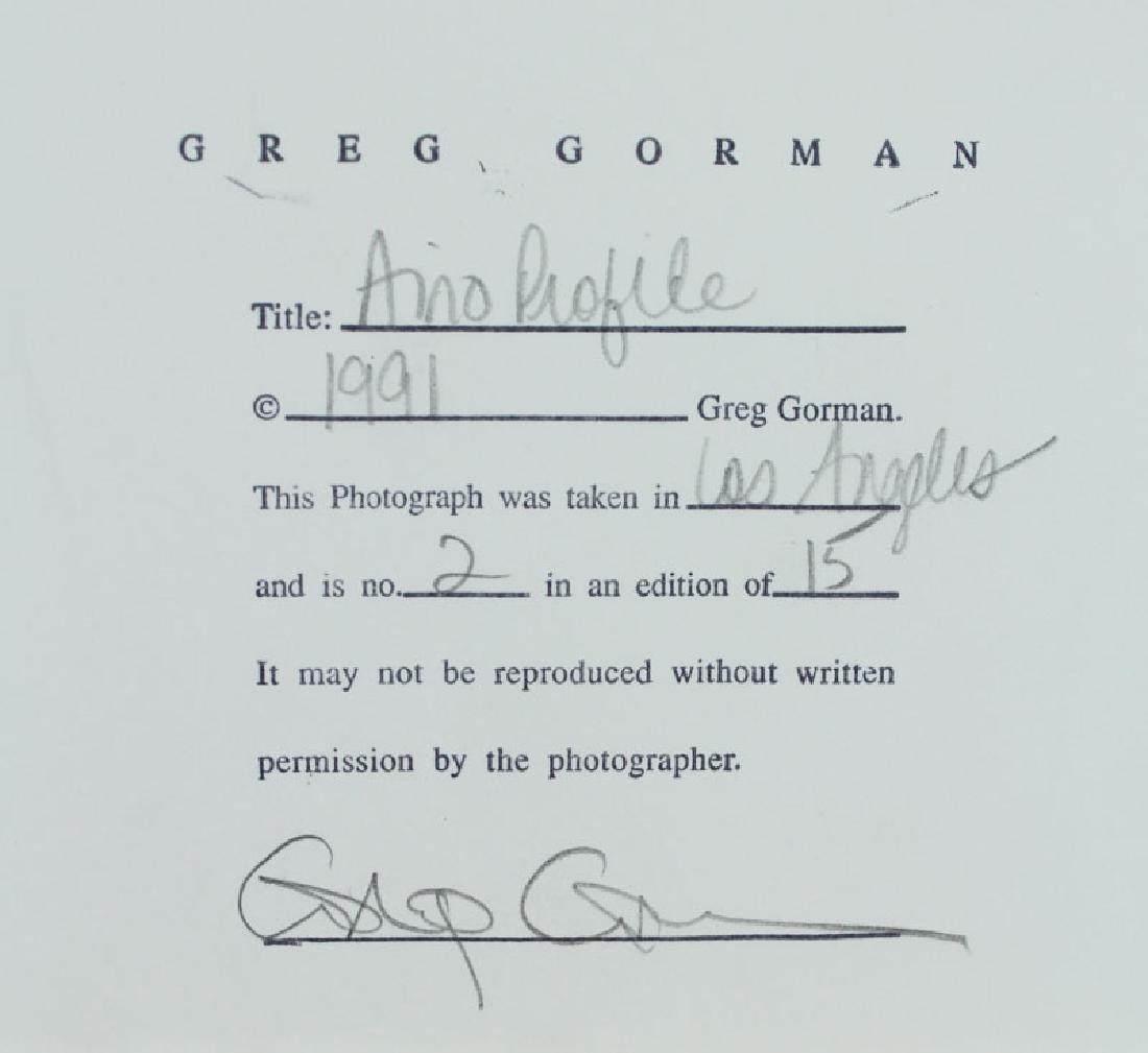 Greg Gorman (b. 1949) Californian - 2