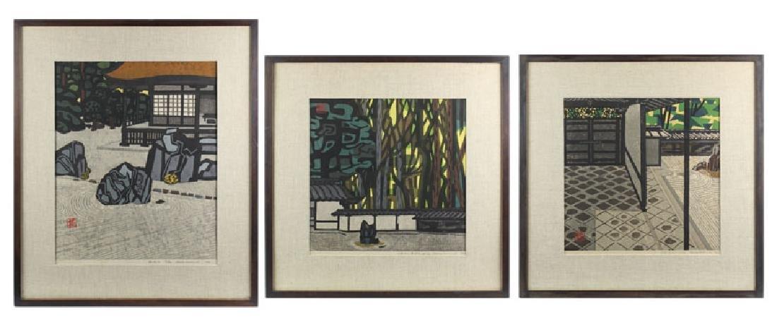 Okiie Hashimoto (1899-1993) Japanese (three) - 2