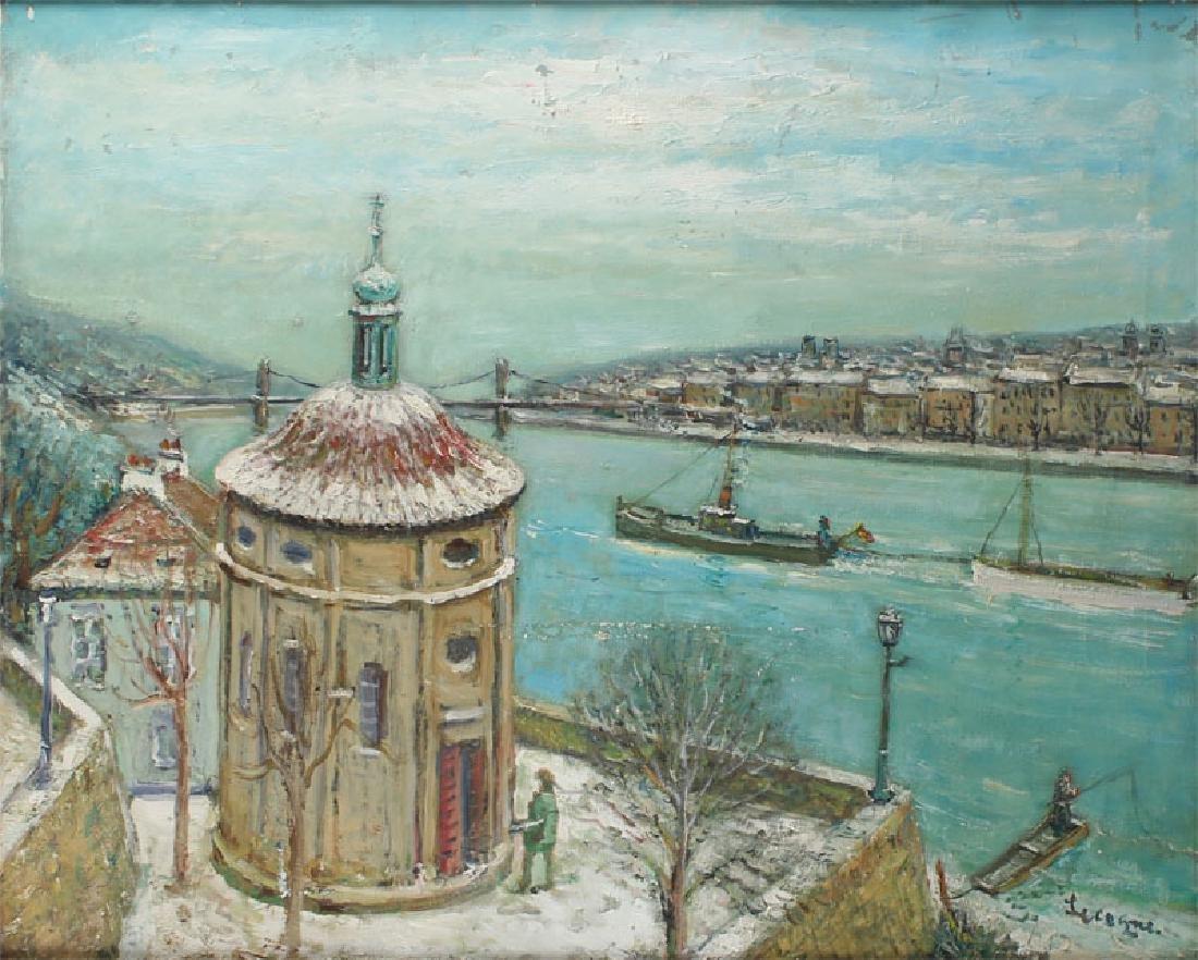 Alois Lecoque (1891-1981) Czech/ Californian