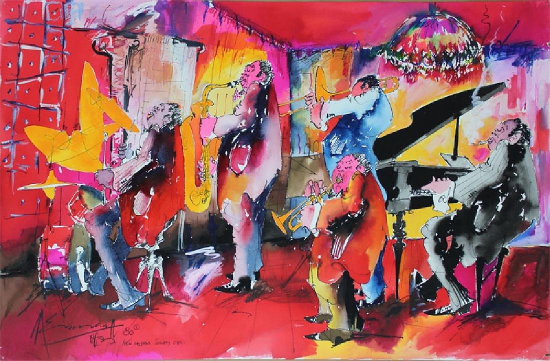 Leo Meiersdorff (1934-1994) New Orleans (four) - 2