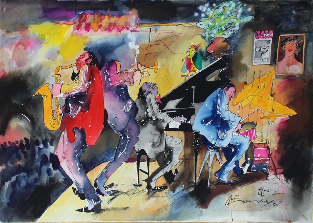 Leo Meiersdorff (1934-1994) New Orleans (four) - 3