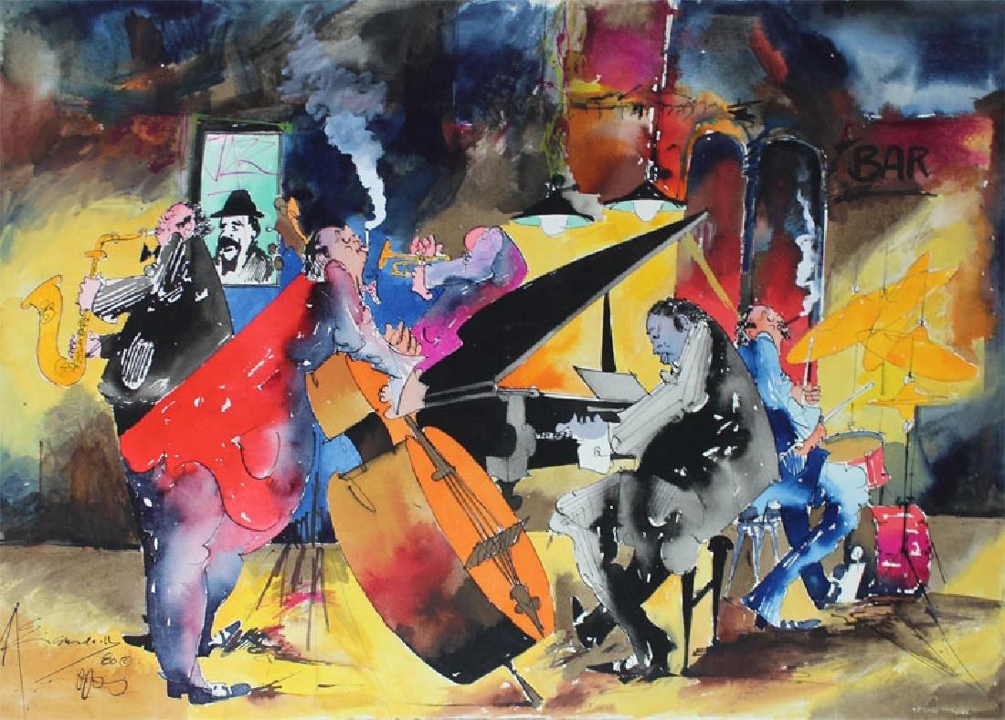 Leo Meiersdorff (1934-1994) New Orleans (four) - 4