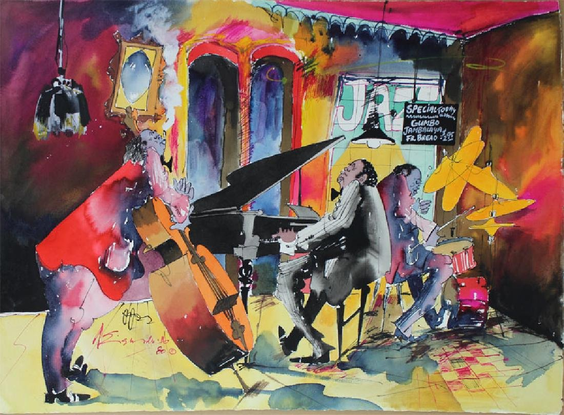 Leo Meiersdorff (1934-1994) New Orleans (four) - 5