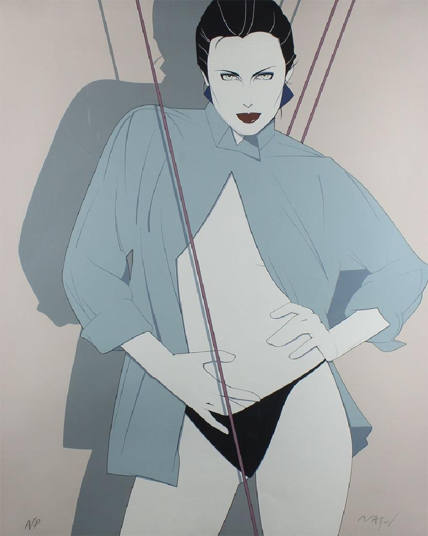 Patrick Nagel (1945-1984) Californian