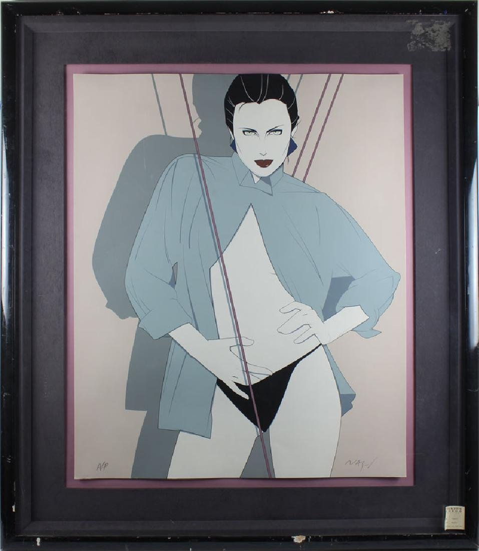 Patrick Nagel (1945-1984) Californian - 2