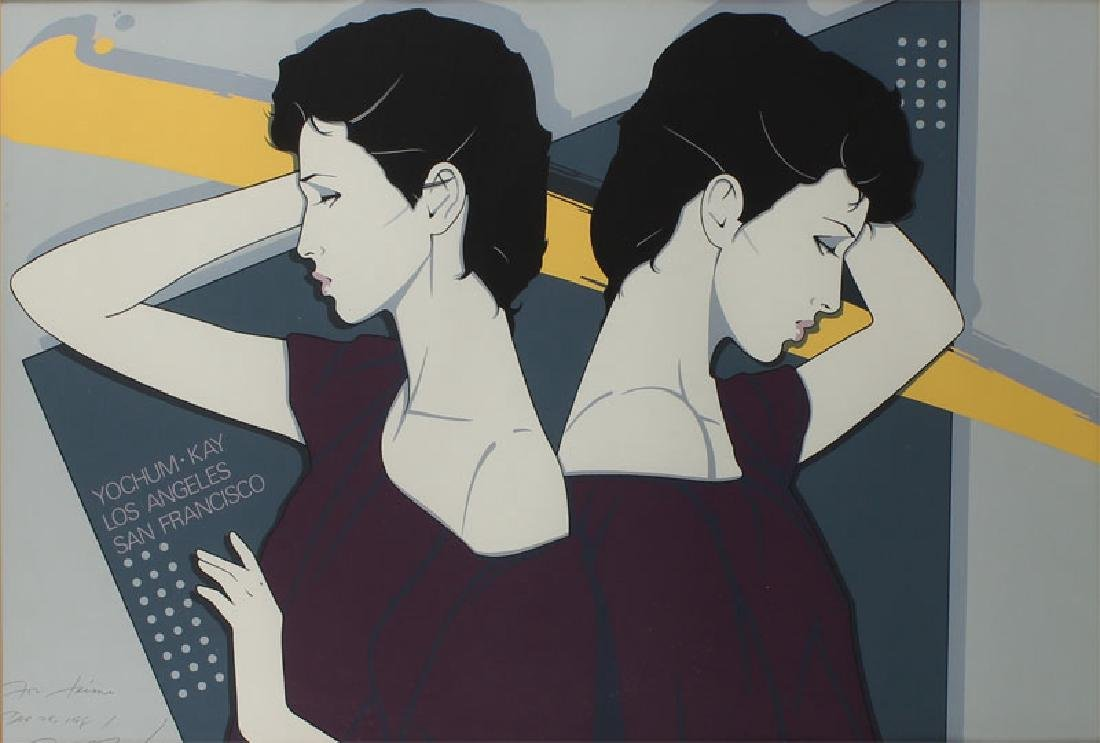Patrick Nagel (1945-1984) Californian