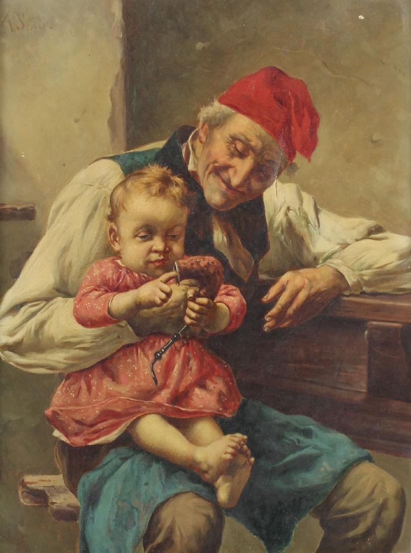 Alessandro Sani (1856-1927) Italian - 2