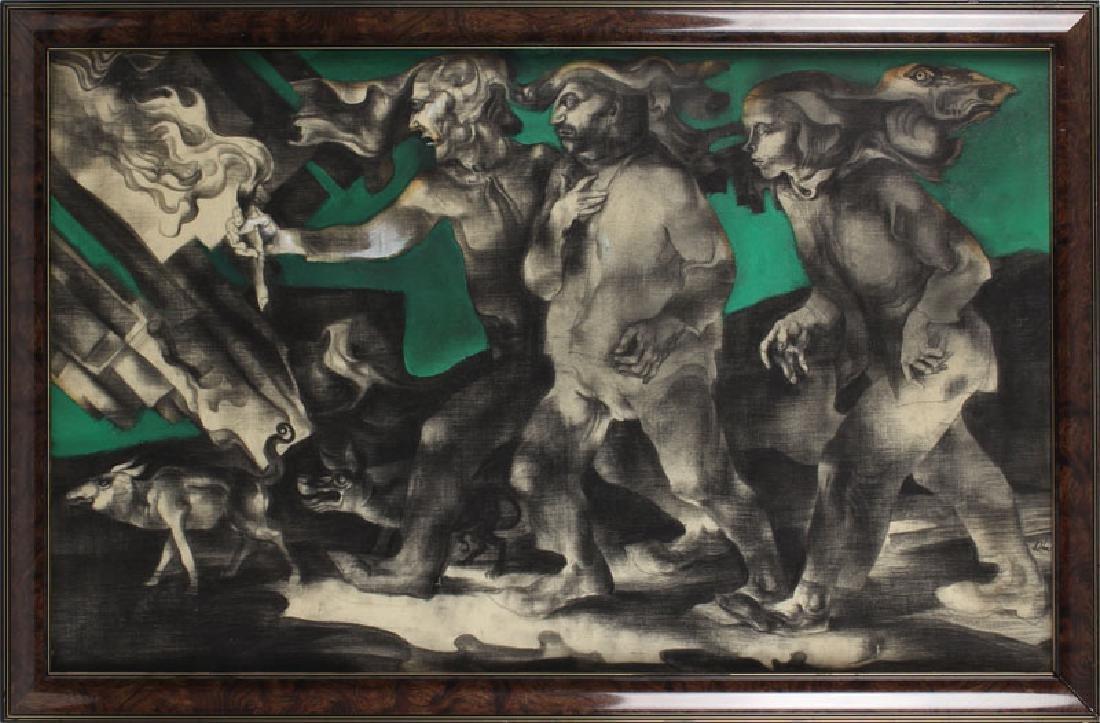 Endre Szasz (1926-2003) Hungarian (two) - 3