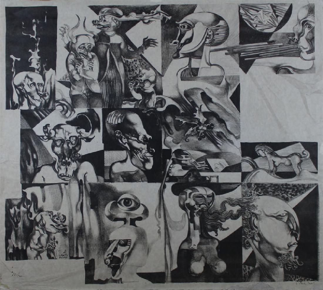 Endre Szasz (1926-2003) Hungarian (two) - 4