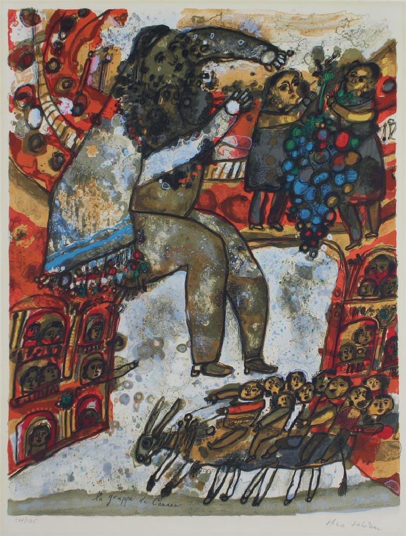 Theo Tobiasse (1927-2012) Israel (three) - 3