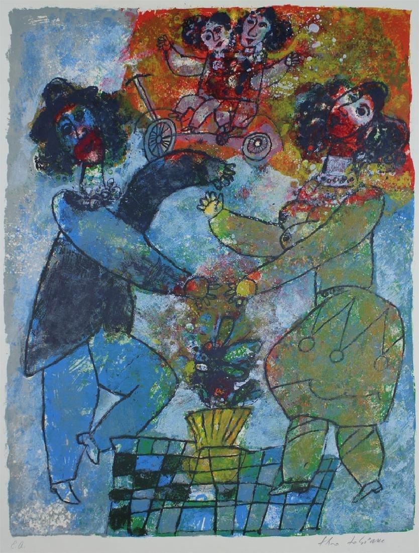 Theo Tobiasse (1927-2012) Israel (three) - 4