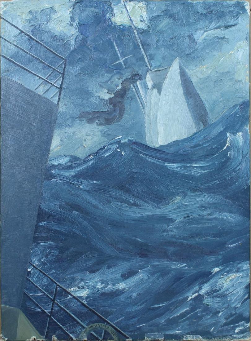 Hans Weingaertner (1896-1970) German/ New Jersey (four) - 5