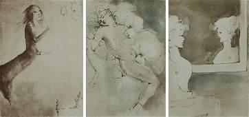 Leonor Fini 19071996 Argentinean three