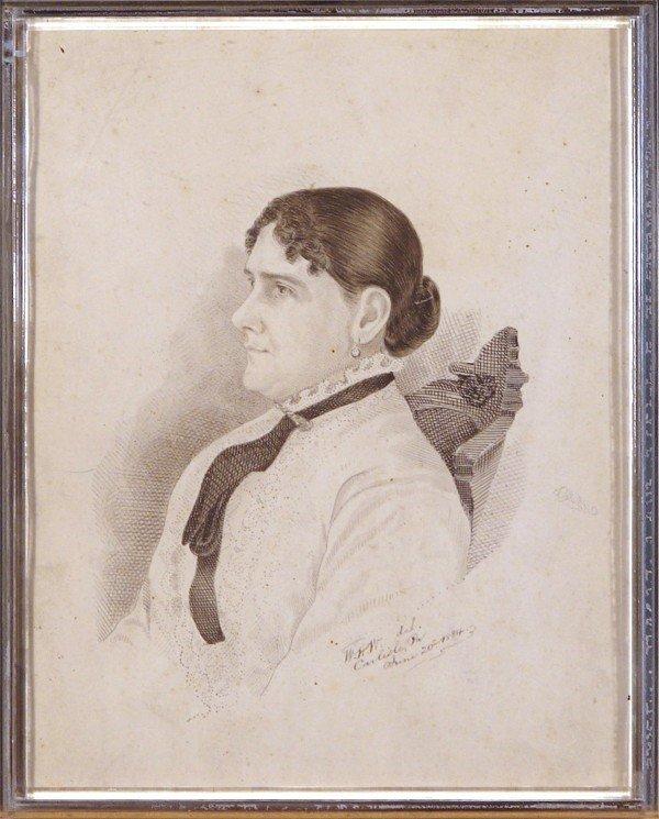 452: 19th Century Drawing