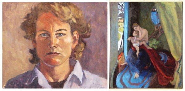 456: Mel Adamson (20th Century) Californian (two)