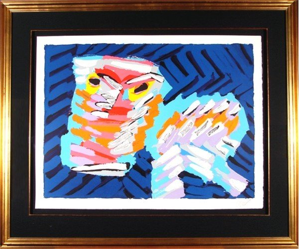 473: Karel Appel (1921-2006) Dutch