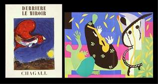 510 Marc Chagall after Henri Matisse two