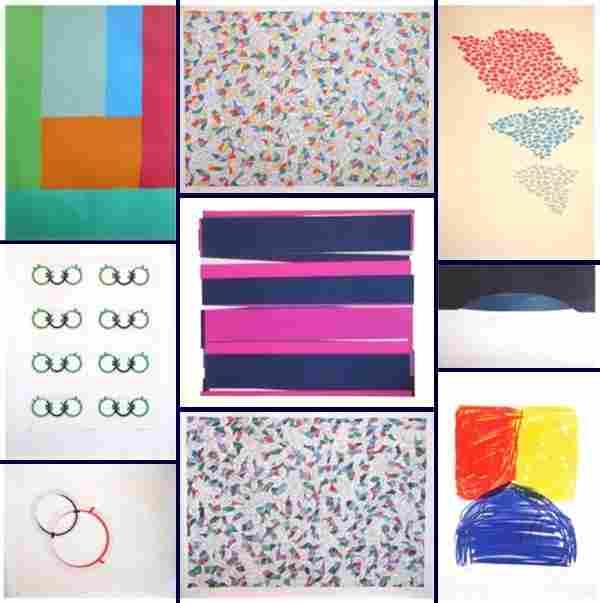 528: Contemporary print collection (twenty)