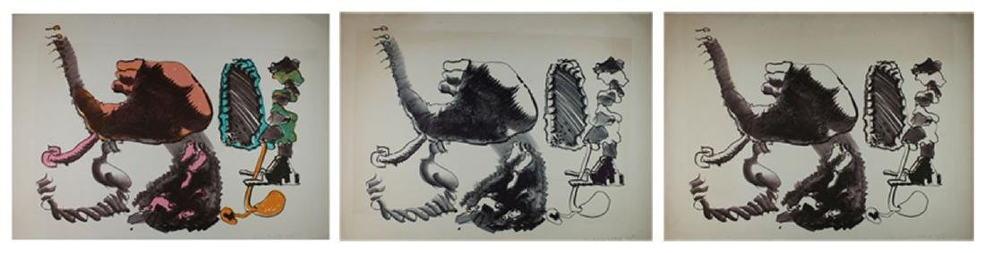 John Altoon (1925-1969) Californian (three)